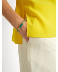 Aurelie Bidermann - Multicolor Positano Gold-plated Cuff for Men - Lyst