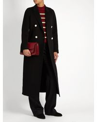 Joseph Black Bailey Wool And Cashmere-blend Coat