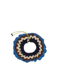 Marni - Blue Scallop-edged Crochet Collar - Lyst