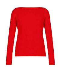 Weekend by Maxmara | Red Ampex Sweater | Lyst