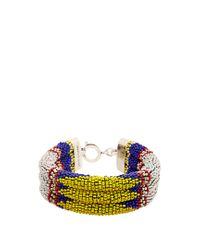 Isabel Marant | Black Ska Beaded Bracelet | Lyst