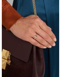 Jacquie Aiche - Pink Diamond & Rose-gold Ring - Lyst