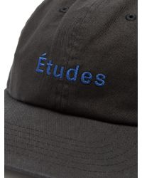 Etudes Studio | Black Still Logo-embroidered Cotton Cap for Men | Lyst