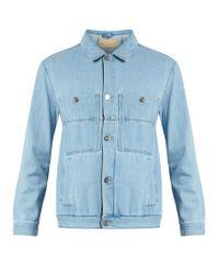 Etudes Studio | Blue Guest Stone Denim Jacket for Men | Lyst