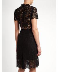 Diane von Furstenberg Black Alma Dress