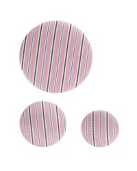 Balenciaga - Pink Set Of 3 Striped Earrings - Lyst