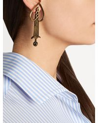 Valentino - Multicolor Pierced Heart Earring - Lyst