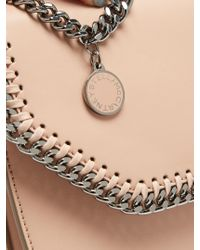 Stella McCartney - Multicolor Falabella Tiny Faux-leather Cross-body Box Bag - Lyst