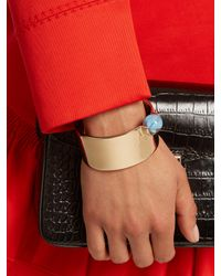 Givenchy - Metallic Marble-embellished Cuff - Lyst