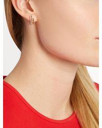 Maurizio Pintaldi - Metallic Diamond & Rose-gold Earrings - Lyst