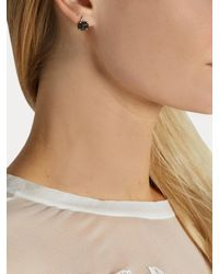 Jacquie Aiche - Blue Diamond, Tourmaline & Rose-gold Earring - Lyst
