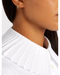 Maria Tash - Blue Diamond & Yellow-gold Earring - Lyst