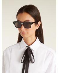 Dior - Black J'a Acetate Sunglasses - Lyst