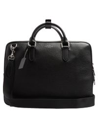 Smythson | Black Burlington Grained-leather Briefcase for Men | Lyst
