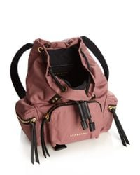 Burberry - Multicolor Small Nylon Backpack - Lyst