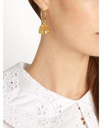 Emilia Wickstead - Metallic Peggy Gold-plated Earrings - Lyst