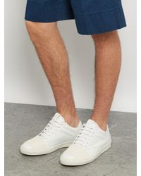 Marni - White Low-top Leather Trainers for Men - Lyst