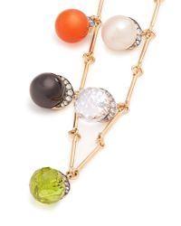Noor Fares - Metallic Diamond, Multi-stone & Yellow-gold Choker - Lyst