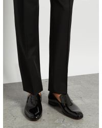 Christian Louboutin - Black Dandelion Patent-leather Loafers for Men - Lyst