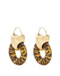 Ellery - Metallic Hush Tire Earrings - Lyst