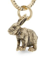 Paul Smith - Metallic Rabbit Key Ring - Lyst
