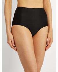 Matteau - Black The High Waist Bikini Briefs - Lyst