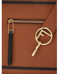 Fendi Brown Runaway Leather Bag