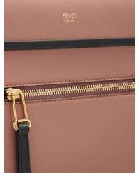 Fendi Multicolor Runaway Small Leather Bag
