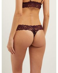 La Perla Multicolor Freedom Lace Thong