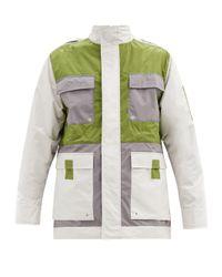 メンズ A_COLD_WALL* * ロンバス コットンブレンドジャケット Green