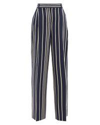 Weekend by Maxmara Blue Pina Trousers
