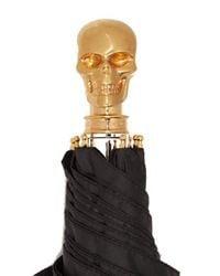 Alexander McQueen - Multicolor Skull Foldable Umbrella - Lyst
