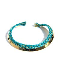 Aurelie Bidermann | Green Copacabana Gold Necklace | Lyst