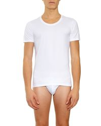 Derek Rose White Jack Pima-cotton Briefs for men
