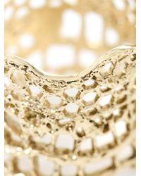 Aurelie Bidermann | Metallic Gold-plated Vintage Lace Ring | Lyst