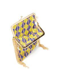 Rosantica By Michela Panero Multicolor Brazil Beaded Cross Body Bag