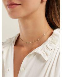 Jacquie Aiche - Metallic Diamond & Gold Necklace - Lyst
