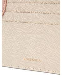 Roksanda Multicolor Dot Bi Colour Leather Cardholder