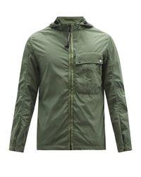 メンズ C P Company ガーメントダイ Chrome-r オーバーシャツ Green