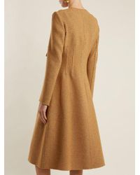Brock Collection Brown Charlotte Wool-blend Coat
