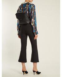 Fendi - Black Back To School Mini Leather Backpack - Lyst