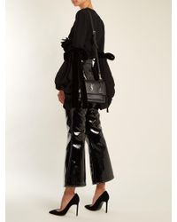 Saint Laurent Black Sunset Medium Leather Cross Body Bag
