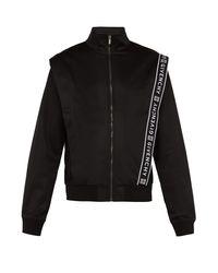 Haut de jogging zippé à jacquard logo Givenchy pour homme en coloris Black