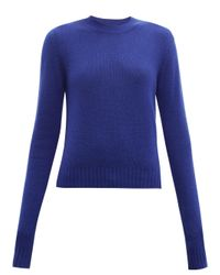 Bottega Veneta カシミアブレンド セーター Blue