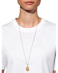 Carolina Bucci - Metallic Diamond, Opal & Yellow-gold Necklace - Lyst