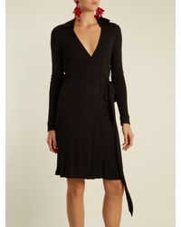 Diane von Furstenberg Black New Jeanne Two Dress