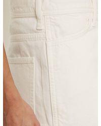 Toga White Mid-rise Straight-leg Jeans