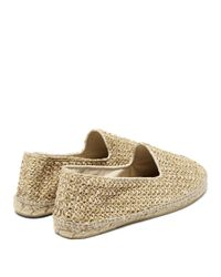 Manebí Multicolor Yucatan Raffia Espadrilles for men