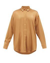 Sies Marjan キキ サテンシャツ Multicolor