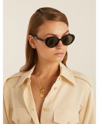 The Row - Multicolor X Oliver Peoples Parquet Sunglasses - Lyst